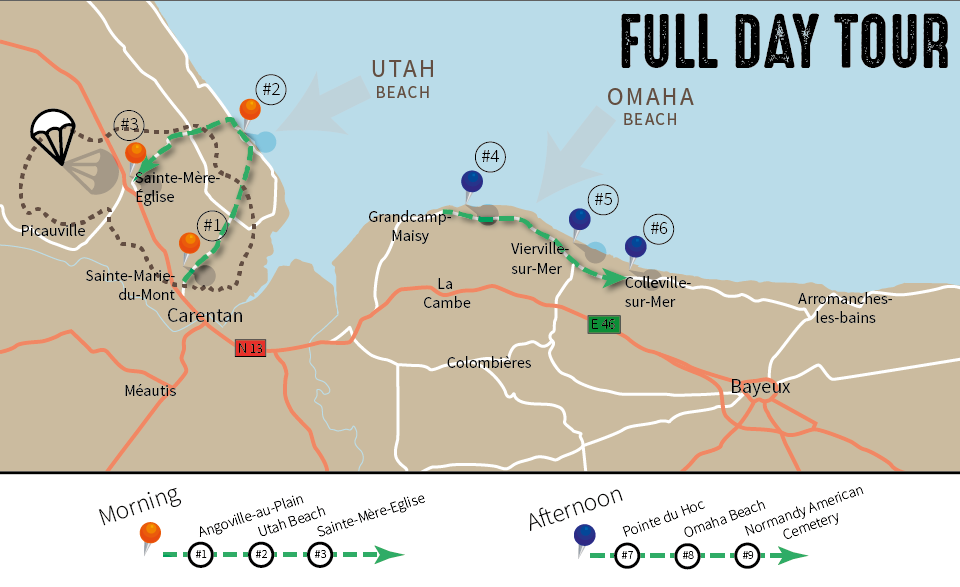 one-day-tour-map