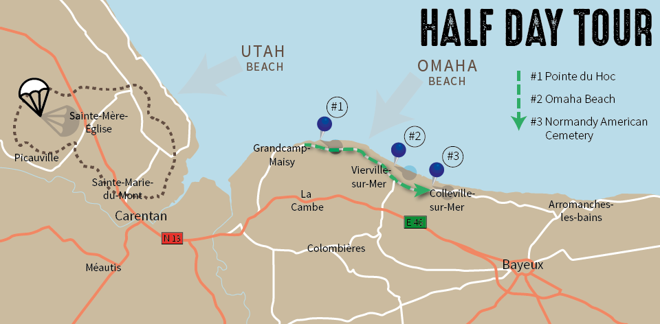 half-day-tour-map