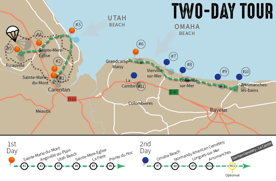 two-day-tour-map